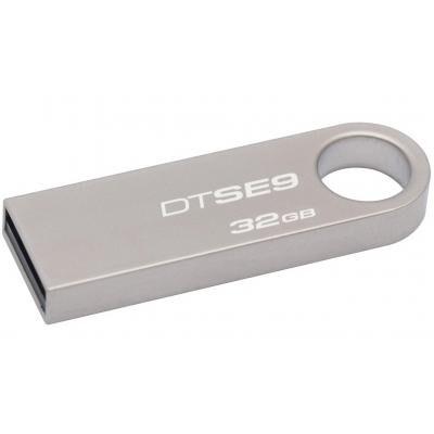USB флеш накопитель Kingston 32GB DTSE9 Metal USB 2.0 (DTSE9H/32GBZ)