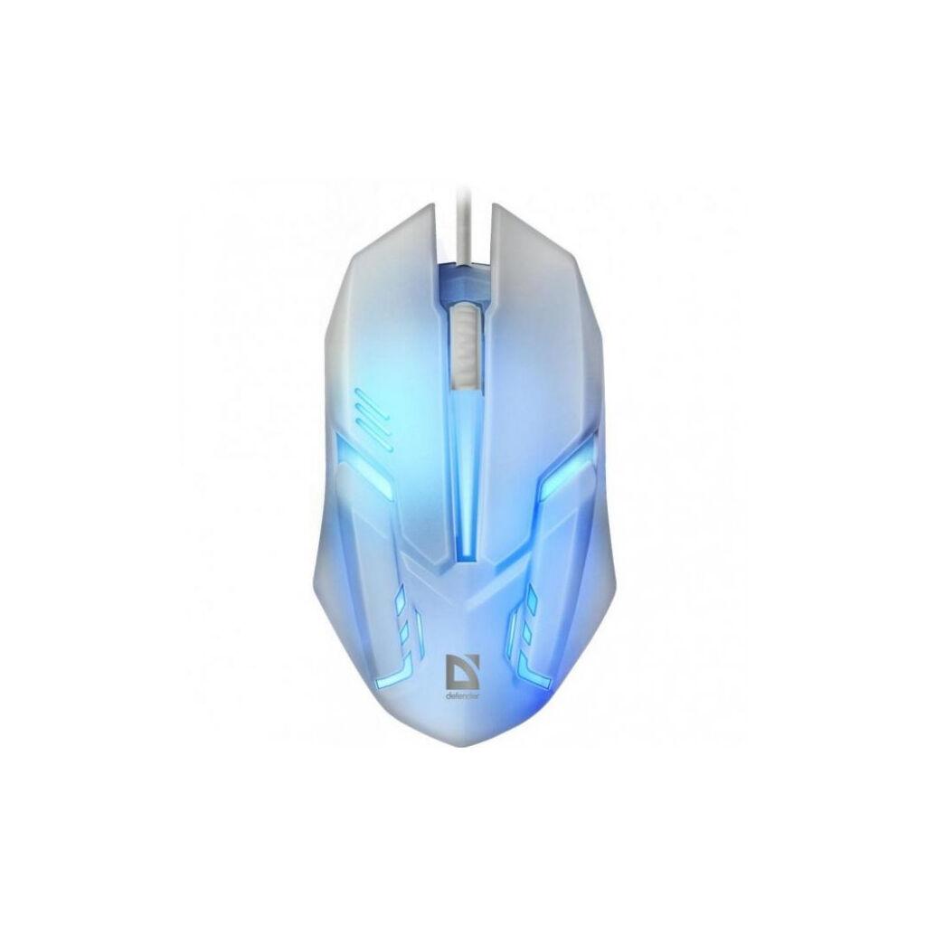 Мышка Defender Cyber MB-560L White (52561)