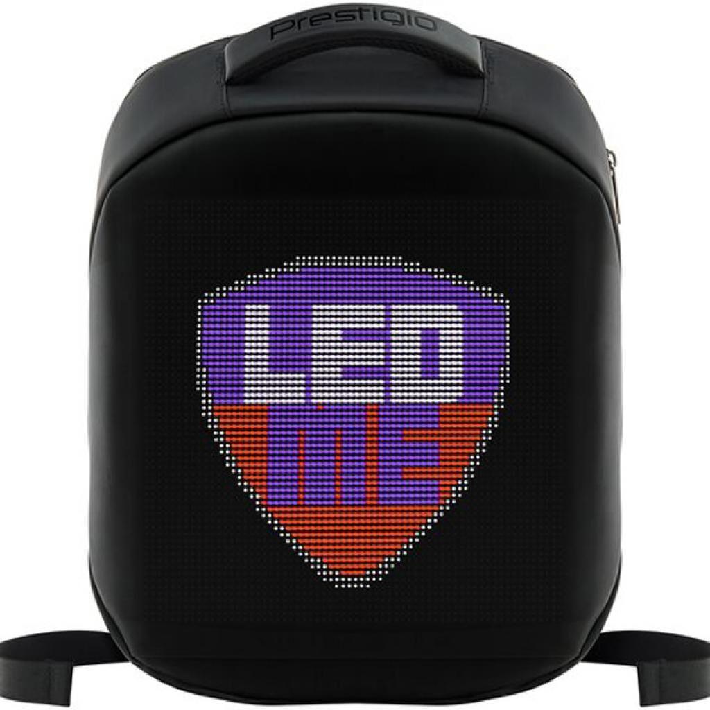 Рюкзак PRESTIGIO LEDme 22L Black LED display 64*64 pixels (PBLED122BK)