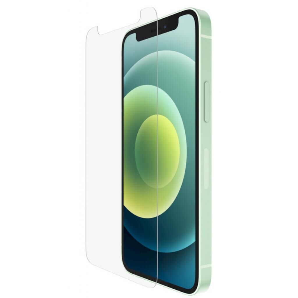 Стекло защитное Belkin UltraGlass Anti-Microbial Screen Protection Apple iPhone 12 (OVA036ZZ)