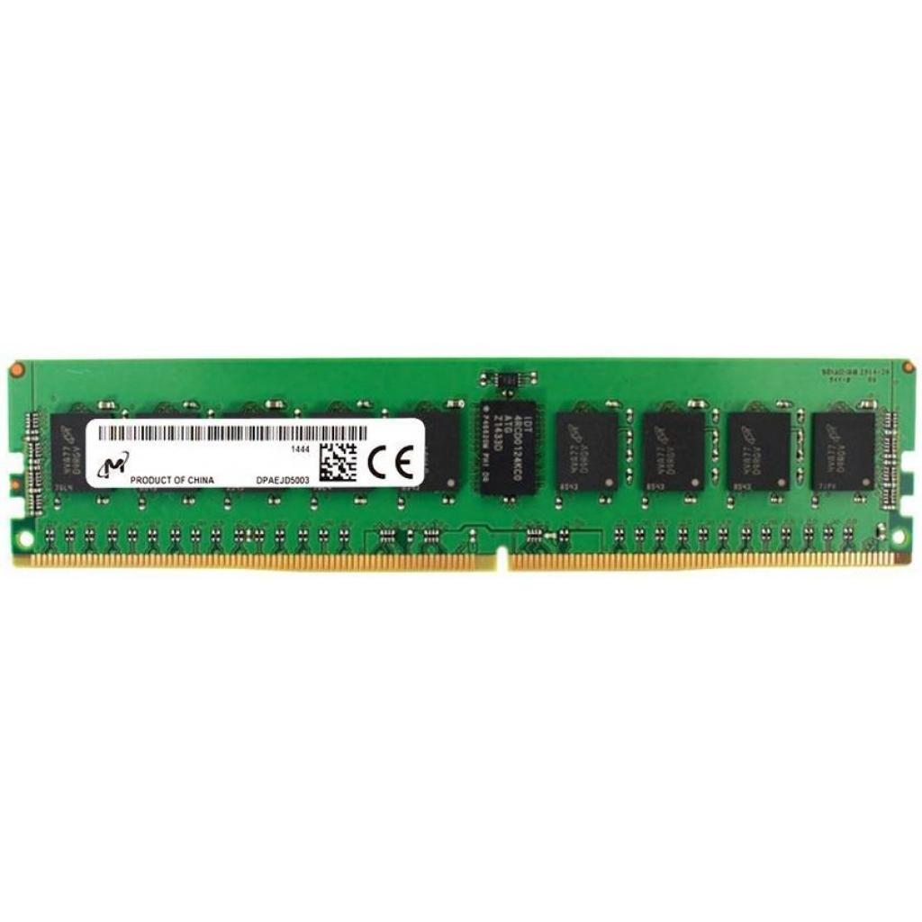 Модуль памяти для сервера DDR4 8GB ECC RDIMM 2933MHz 1Rx8 1.2V CL21 MICRON (MTA9ASF1G72PZ-2G9E1)