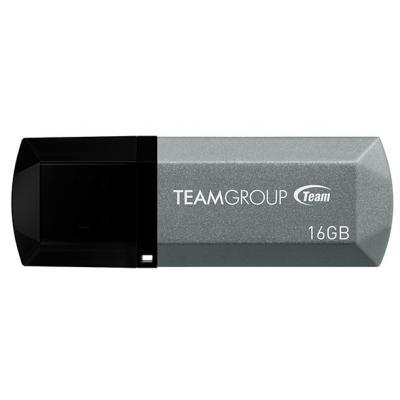 USB флеш накопитель Team 16GB C153 Silver USB 2.0 (TC15316GS01)