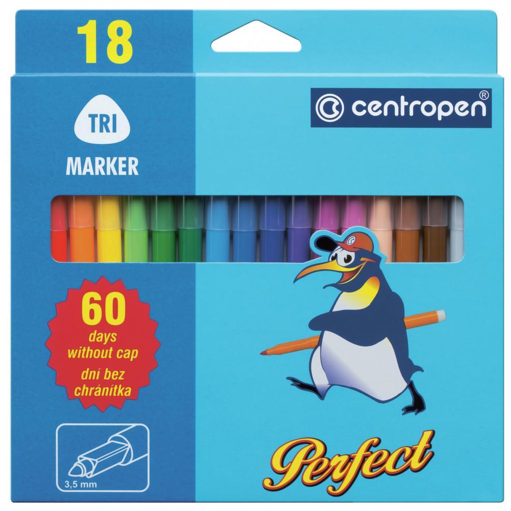 Фломастеры Centropen 2510 Perfect, 18 colors (2510/18)