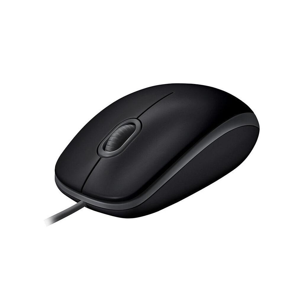 Мышка Logitech B110 Silent Black (910-005508)