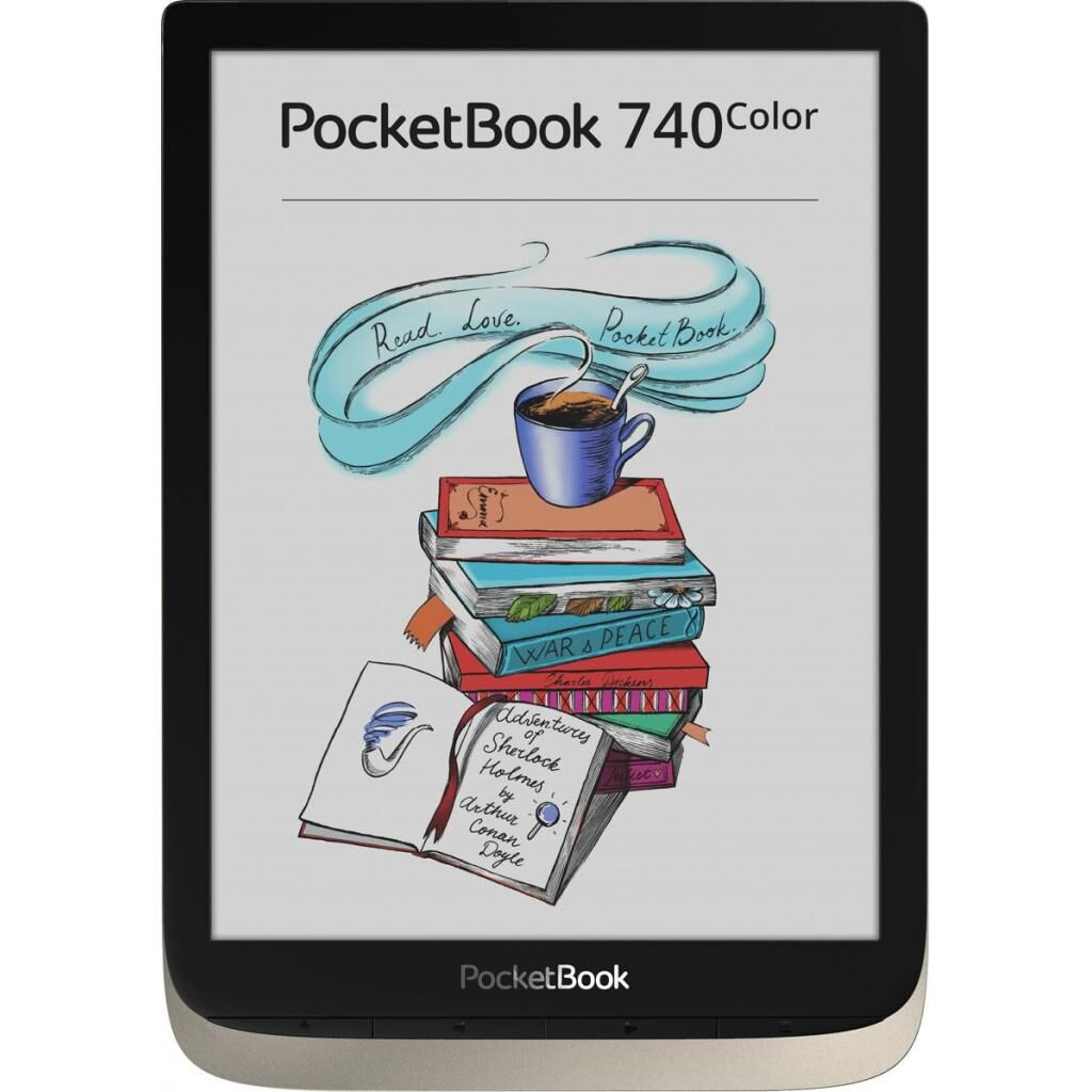Электронная книга PocketBook 740 Color Moon Silver (PB741-N-CIS)