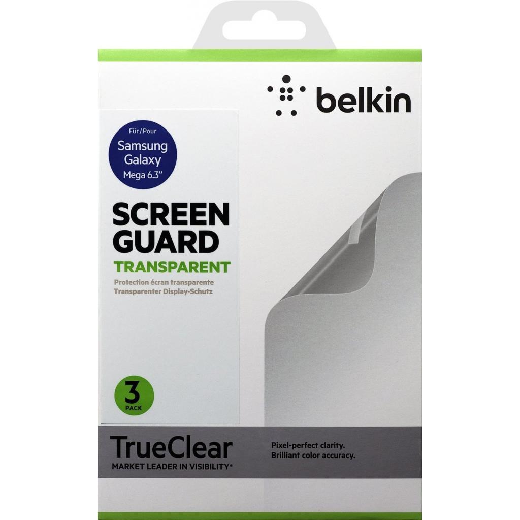 Пленка защитная Belkin Galaxy Mega 6.3 Screen Overlay CLEAR 3in1 (F8M662vf3 / FM662vf3)
