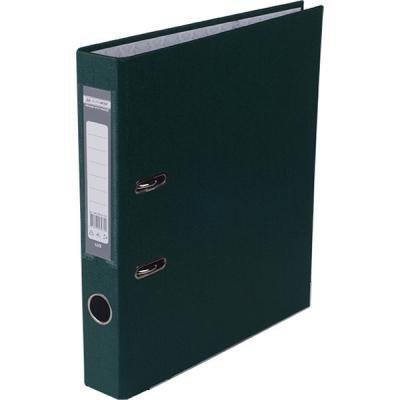 Папка - регистратор Buromax А4, 50мм, JOBMAX PP, dark green, built-up (BM.3012-16c)