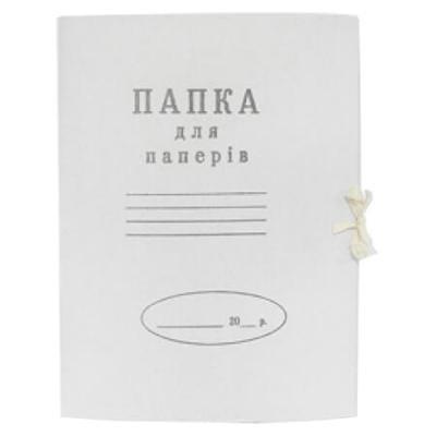 Папка на завязках Buromax А4, carton 0,4мм (single cut) (BM.3357)