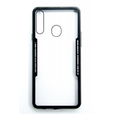 Чехол для моб. телефона DENGOS TPU для Samsung Galaxy A20s (black frame) (DG-TPU-TRP-26)