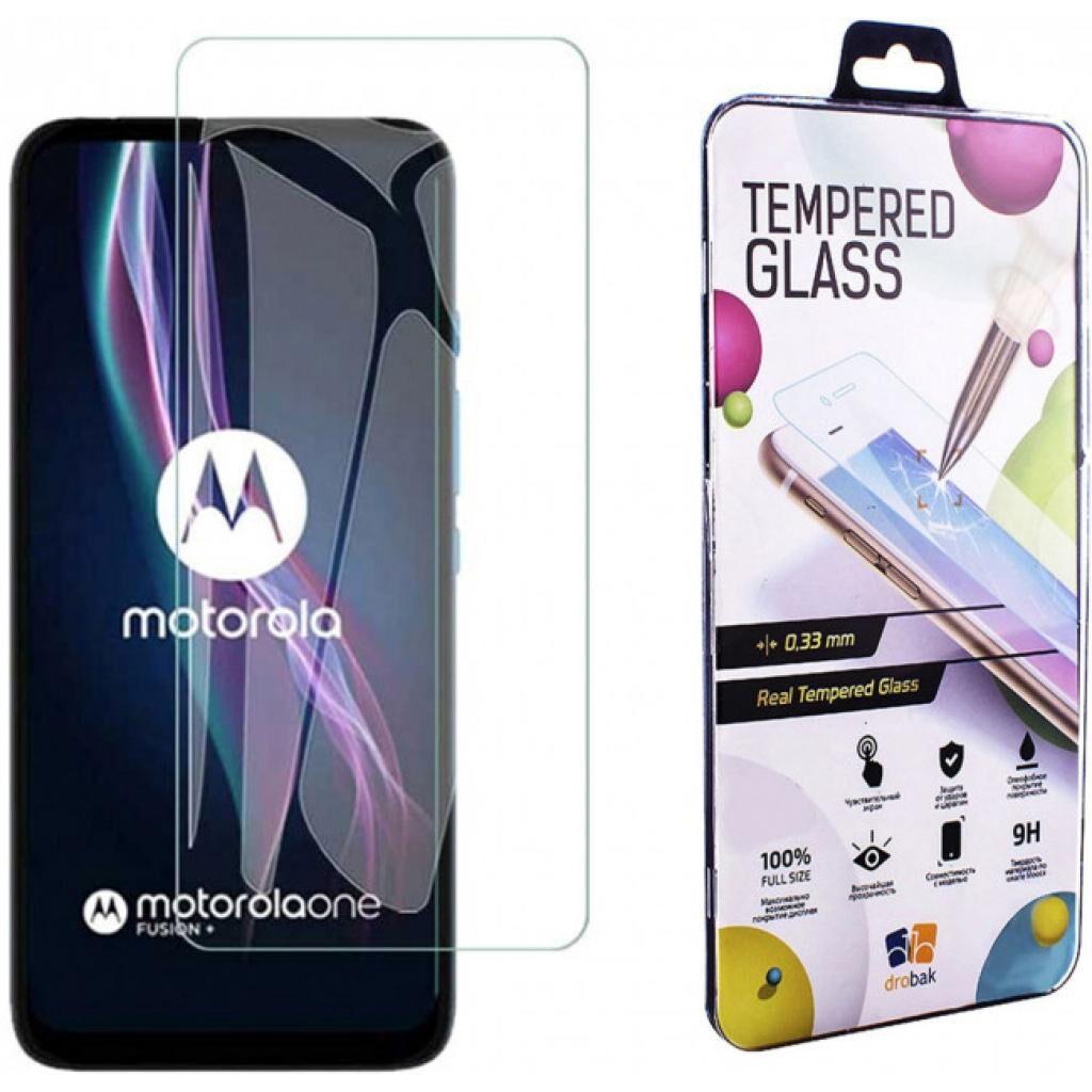 Стекло защитное Drobak Motorola One Fusion+ (232317) (232317)