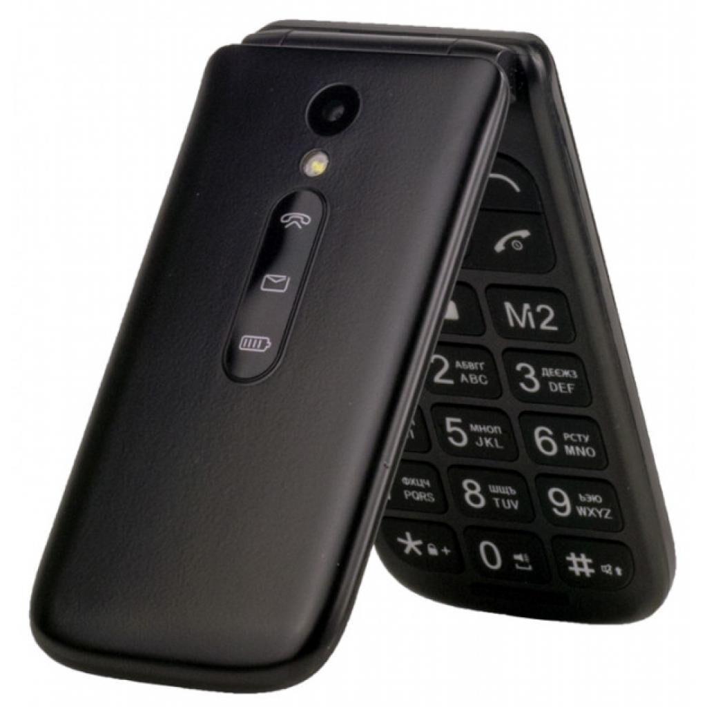 Мобильный телефон Sigma X-style 241 Snap Black (4827798524718)