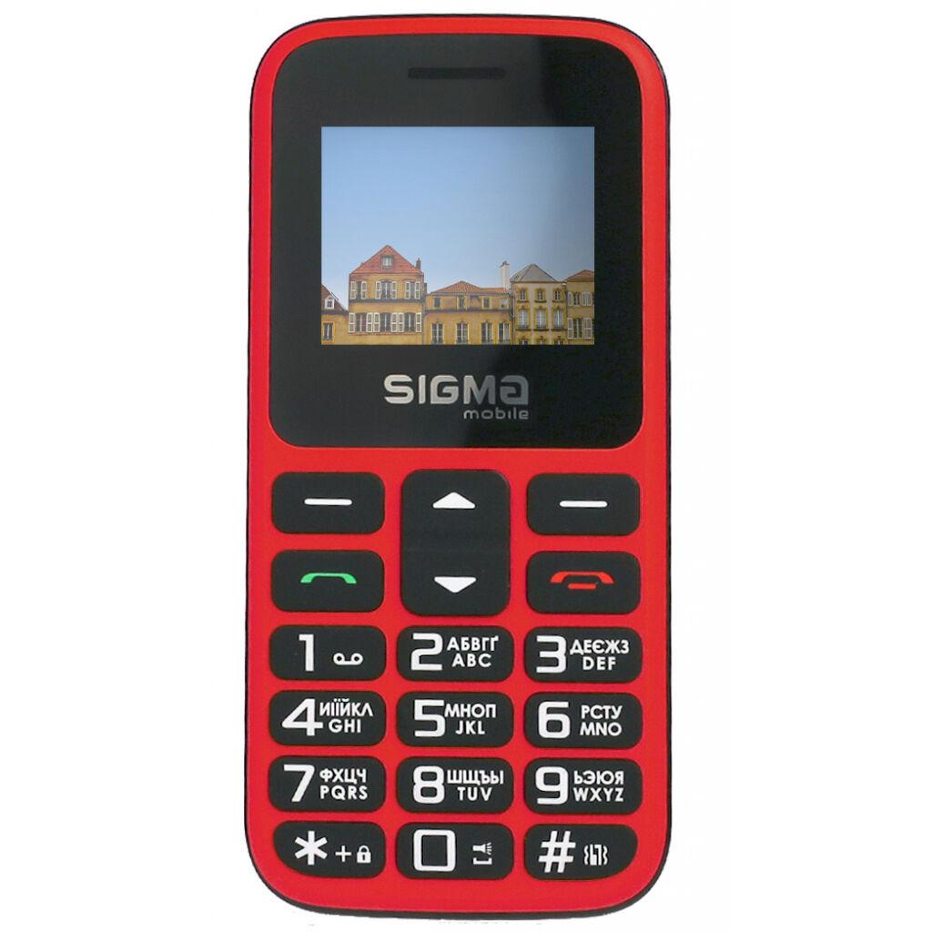 Мобильный телефон Sigma Comfort 50 HIT2020 Red (4827798120958)