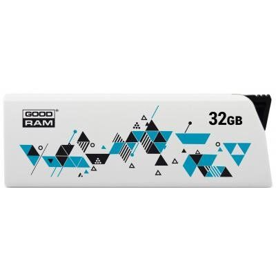 USB флеш накопитель Goodram 32GB Cl!ck White USB 2.0 (UCL2-0320W0R11)
