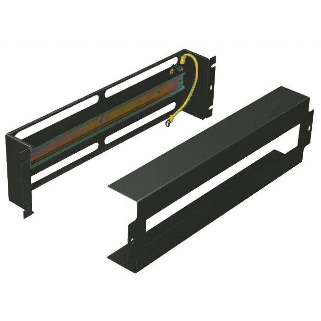 Патч-панель Zpas з DIN-рейкой, черная (WZ-PS3U-00-00-161)