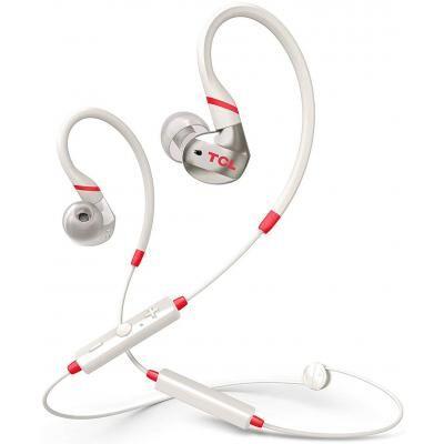 Наушники TCL ACTV100BT Bluetooth Crimson White (ACTV100BTWT-EU)