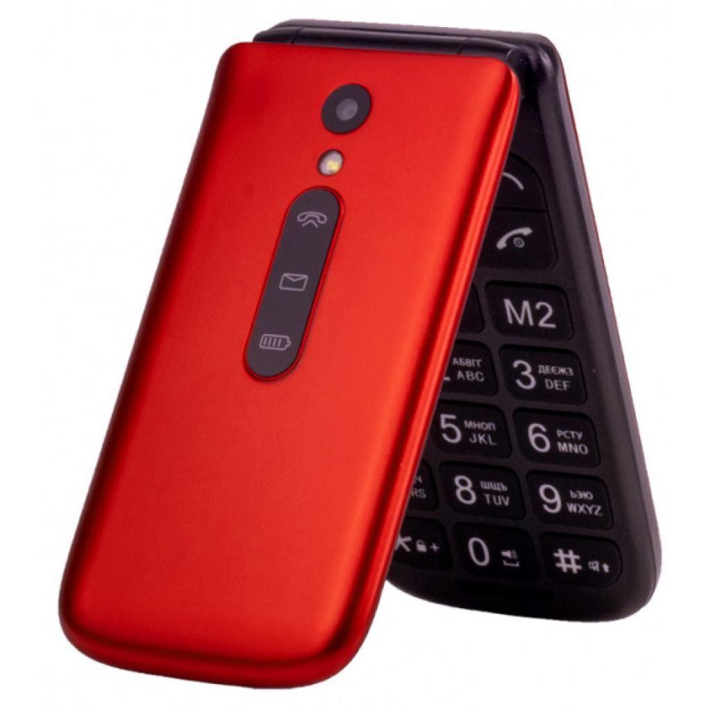 Мобильный телефон Sigma X-style 241 Snap Red (4827798524725)