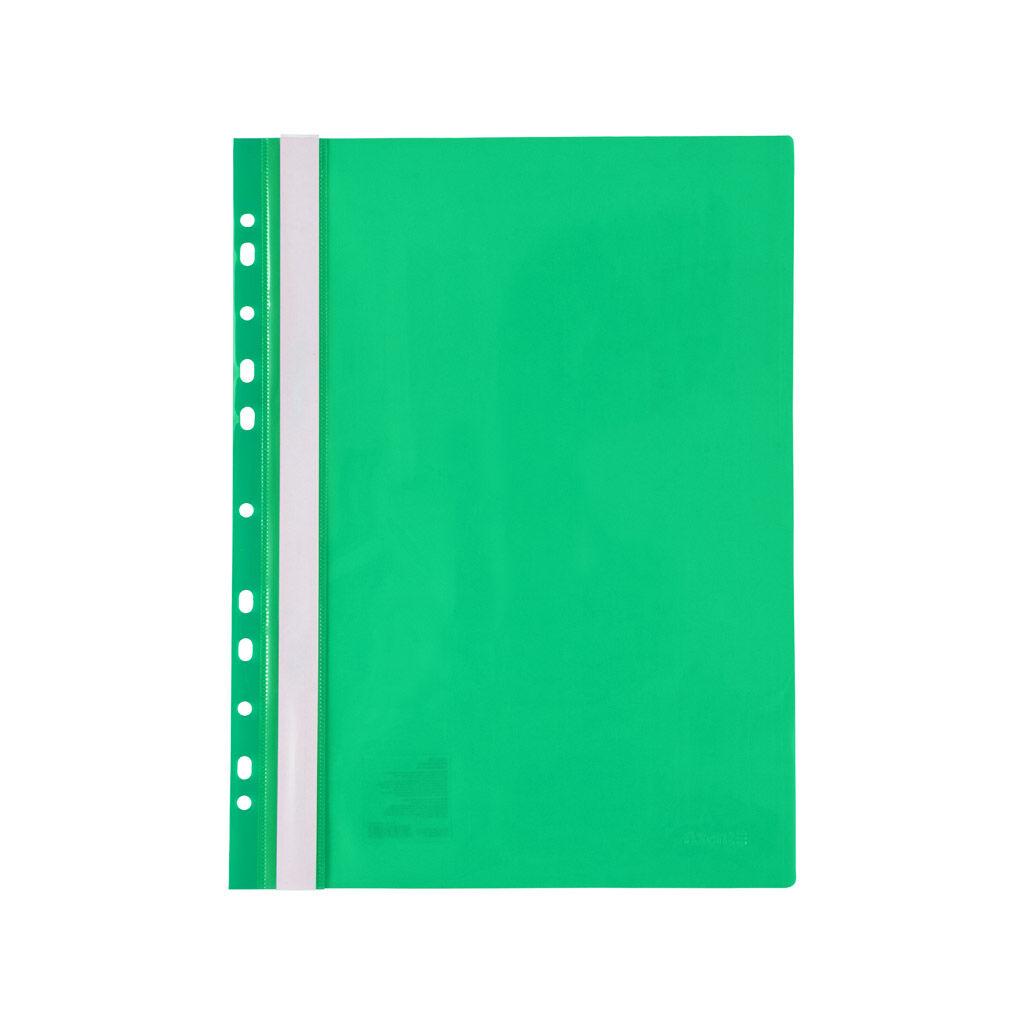 Папка-скоросшиватель Axent А4 с перфорацией 120/150 мкм Зеленая (1318-25-A)