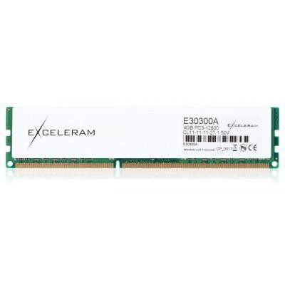 Модуль памяти для компьютера DDR3 4GB 1600 MHz Heatsink: white Sark eXceleram (E30300A)