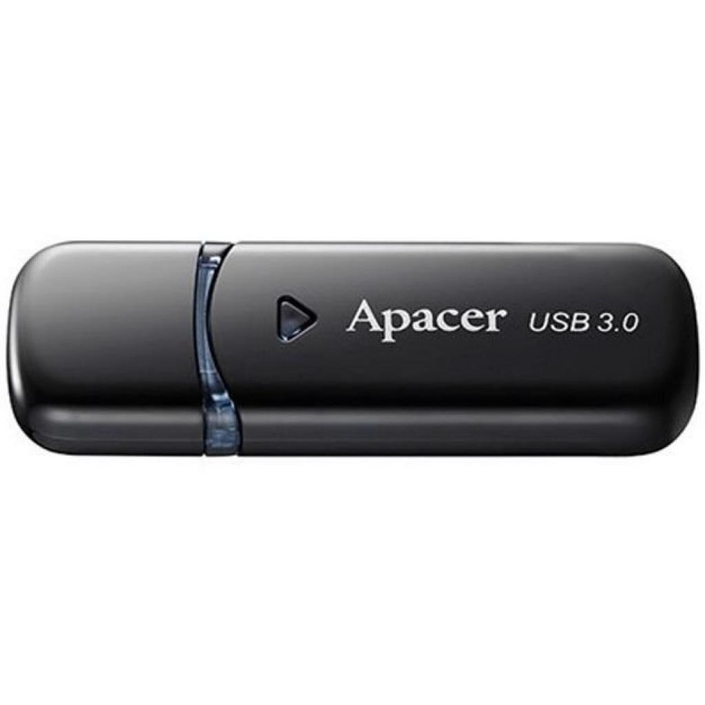 USB флеш накопитель Apacer 32GB AH355 Black USB 3.0 (AP32GAH355B-1)