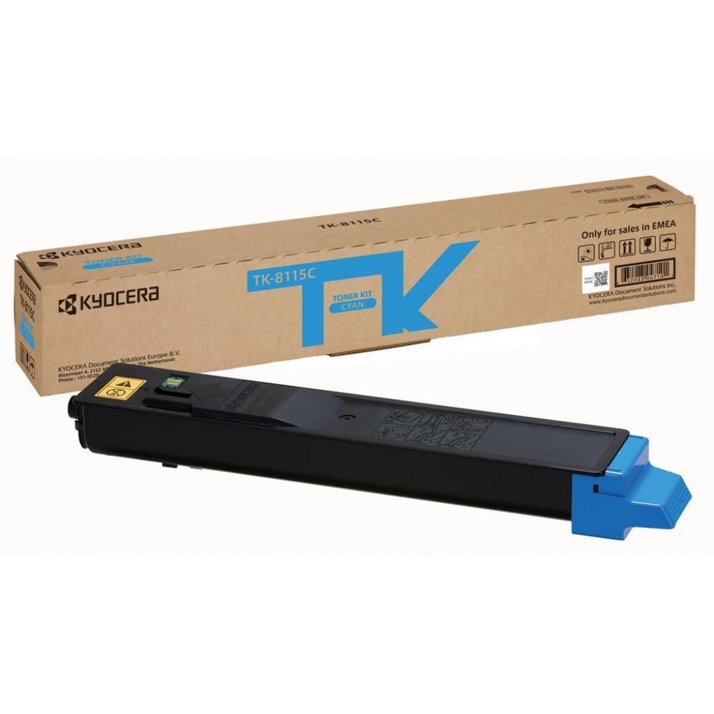 Тонер-картридж Kyocera TK-8115C Cyan 6K (1T02P3CNL0)