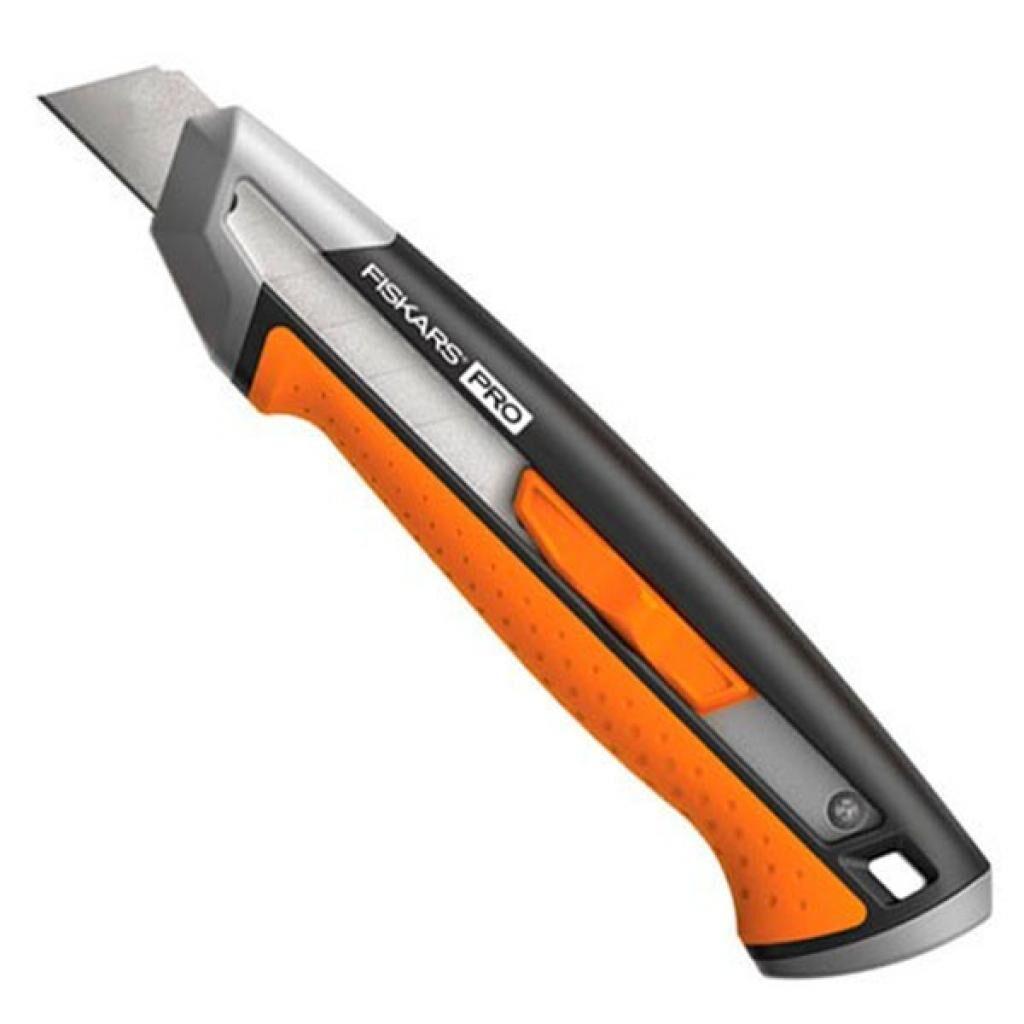 Нож монтажный Fiskars CarbonMax Snap-Off Knife 18 мм (1027227)
