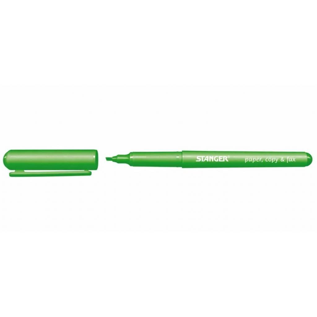Маркер Stanger текстовый зеленый 1-3 мм (180006900)