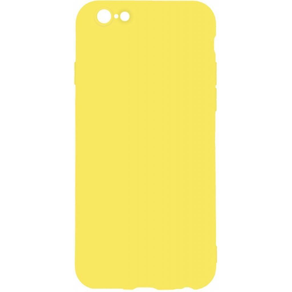 Чехол для моб. телефона TOTO 1mm Matt TPU Case Apple iPhone 6/6s Yellow (F_93831)
