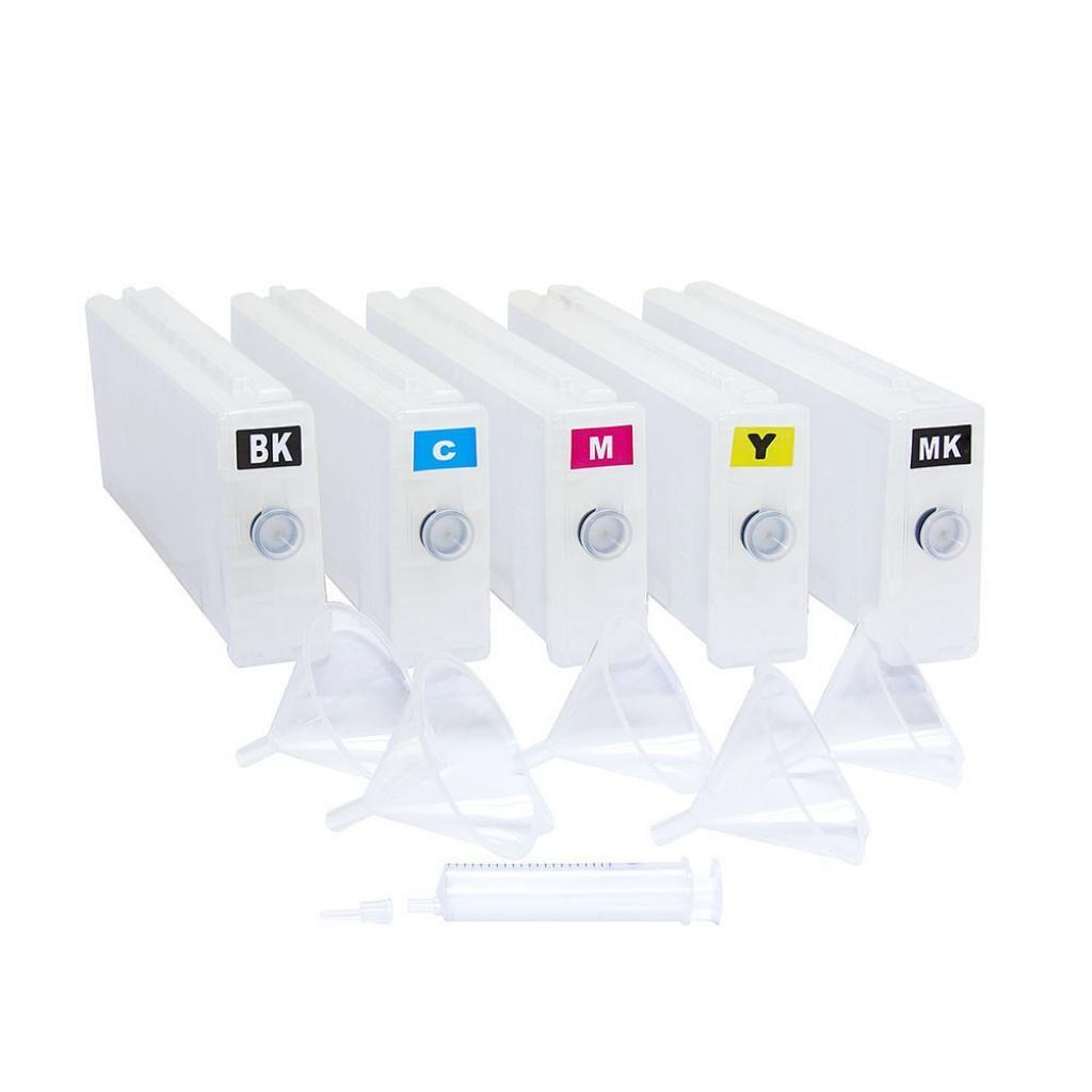 Комплект перезаправляемых картриджей SuperPrint Epson Stylus Pro 7900/9900, без чрнл, 5 шт*700мл, without ch (DZK1-7900)