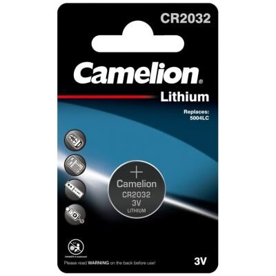 Батарейка CR 2032 Lithium *1 Camelion (CR2032-BP1)