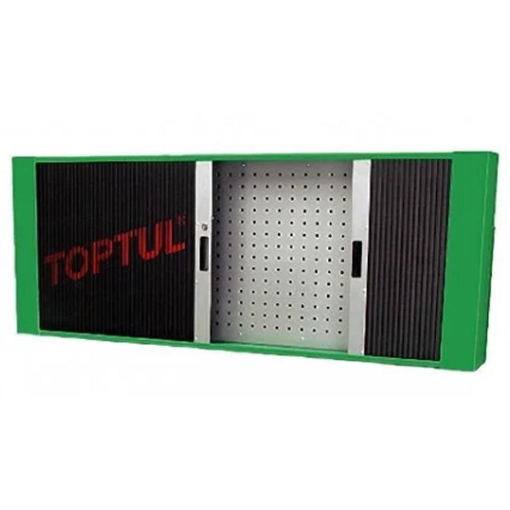 Ящик для инструментов TOPTUL полка для верстака 1560*200*603мм + 20 держателей (TAAD1602)