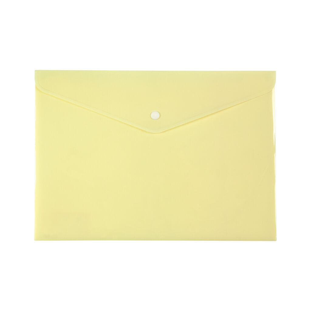 Папка - конверт Axent А4 180мкм Pastelini Желтая (1412-08-A)