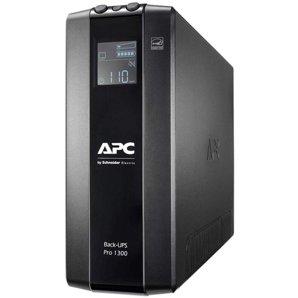 Источник бесперебойного питания APC Back-UPS Pro BR 1300VA, LCD (BR1300MI)