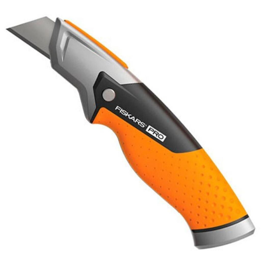 Нож монтажный Fiskars CarbonMax Fixed Utility Knife (1027222)