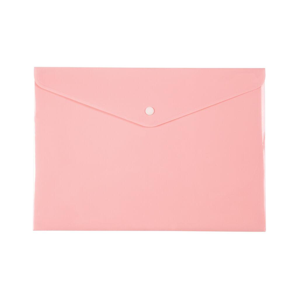 Папка - конверт Axent А4 180мкм Pastelini Розовая (1412-10-A)