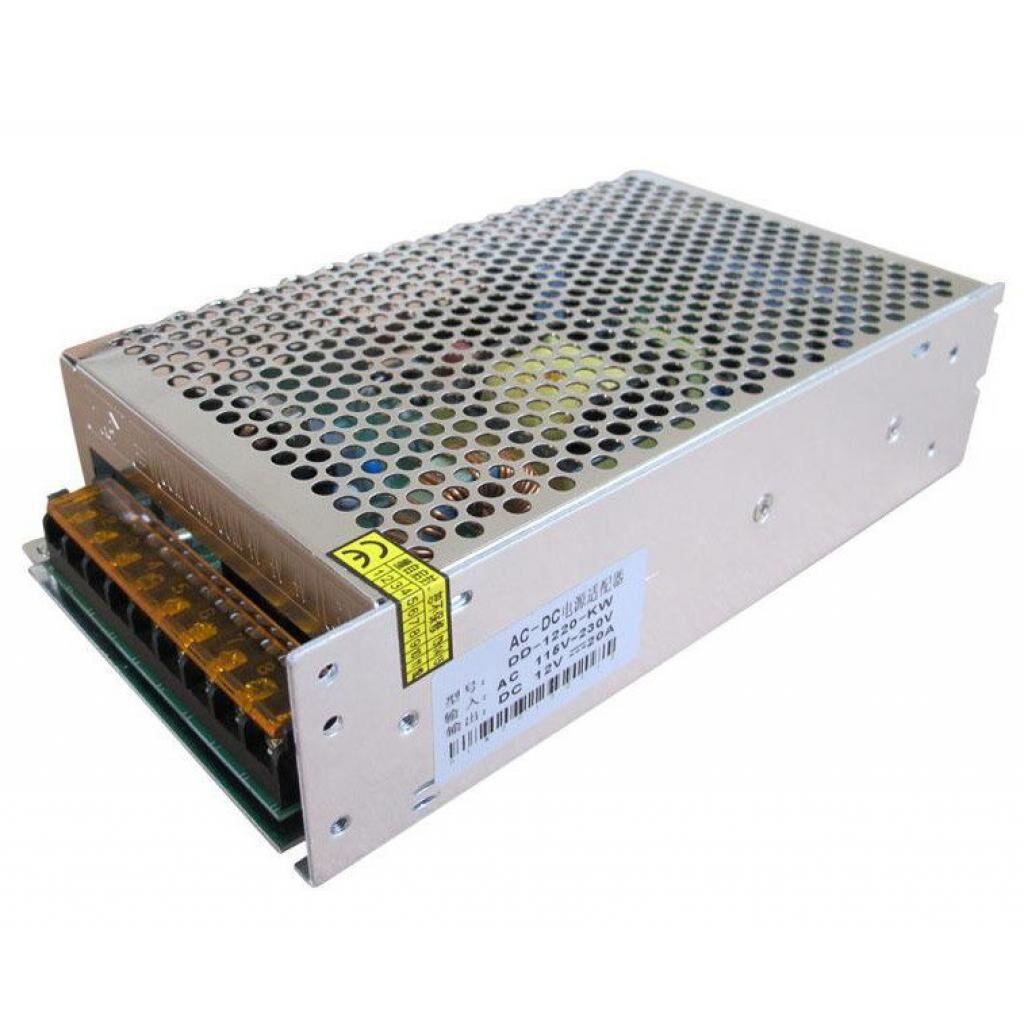 Блок питания для систем видеонаблюдения Partizan AC220B-DC12В/10А (208)