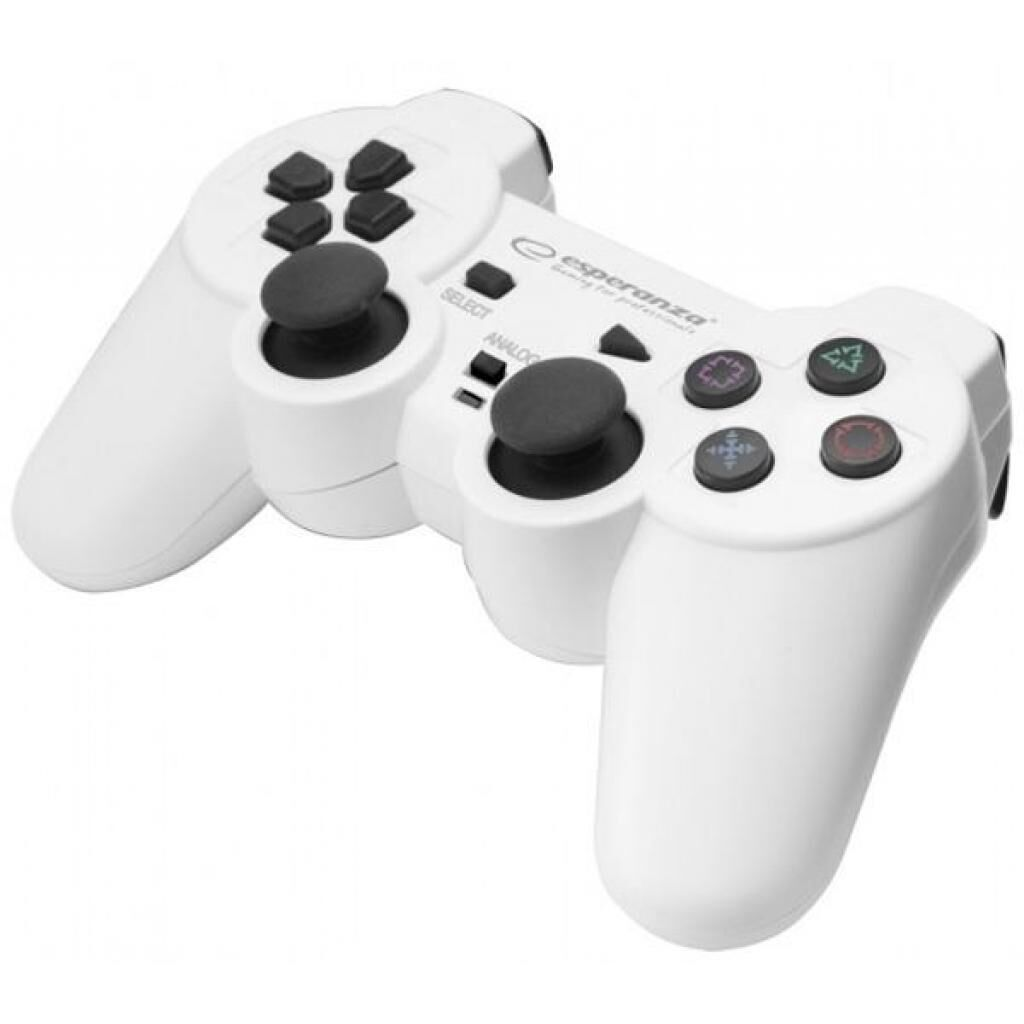 Геймпад Esperanza Trooper PS3/PC White (EGG107W)