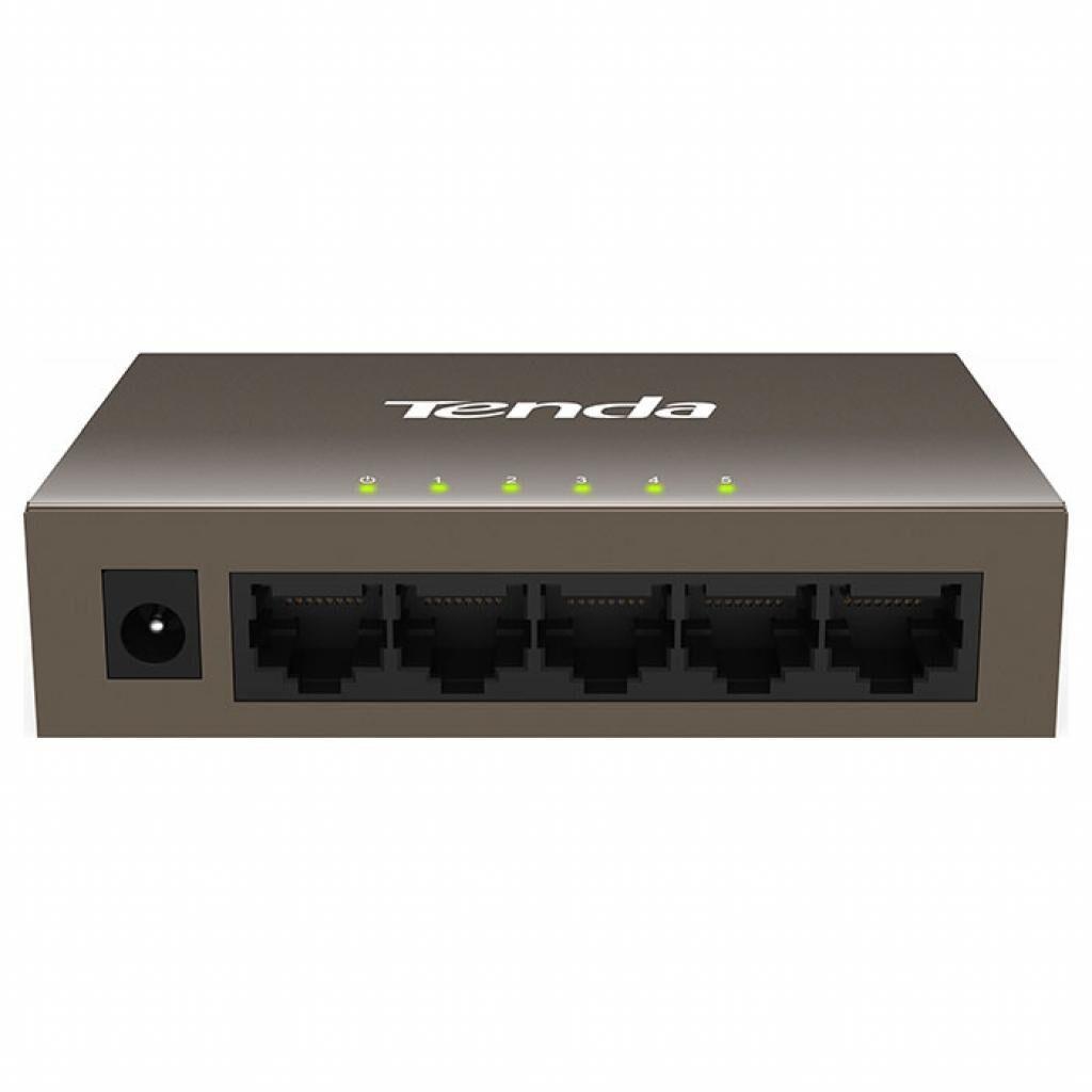 Коммутатор сетевой TENDA TEF1005D