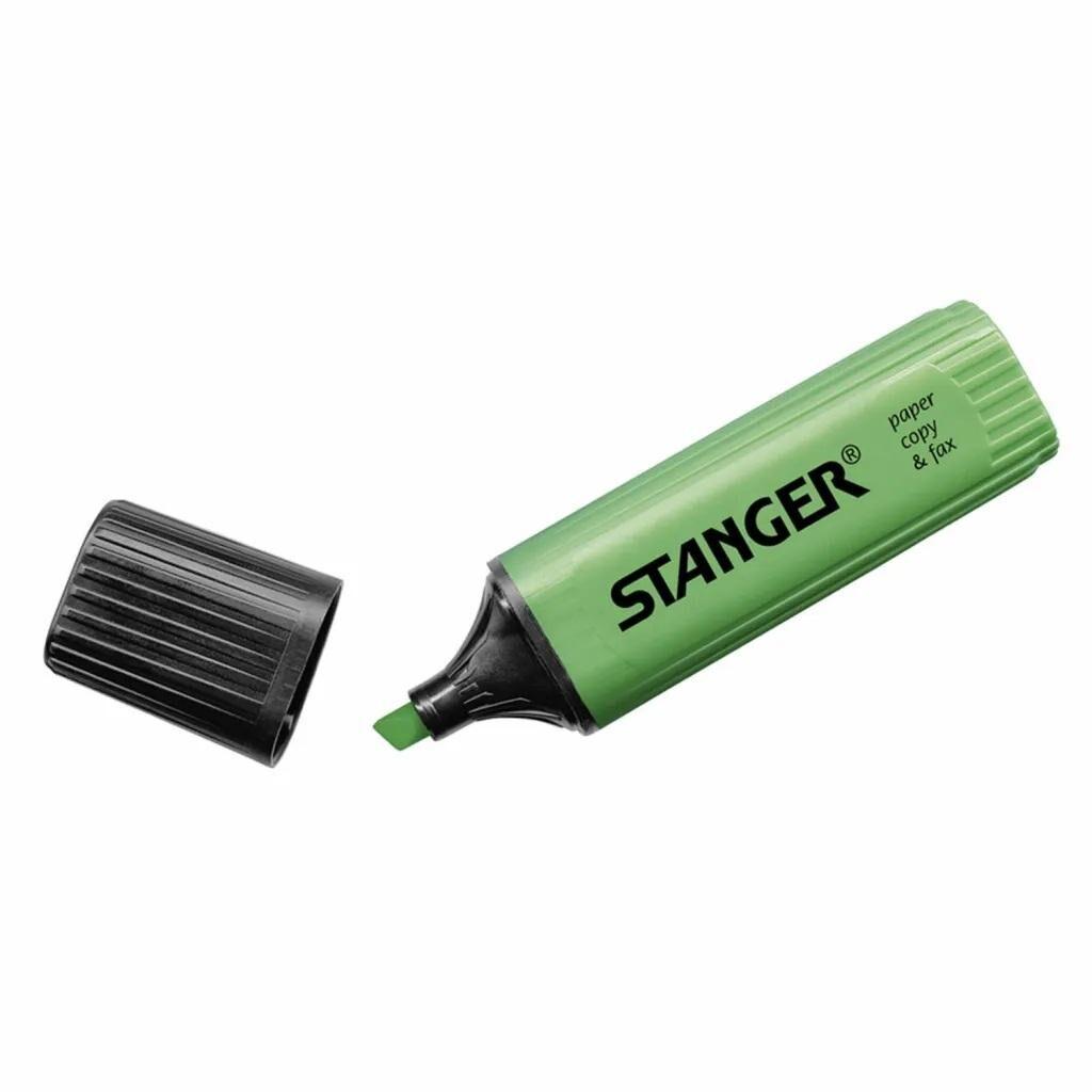 Маркер Stanger текстовый зеленый 1-5 мм (180006000)