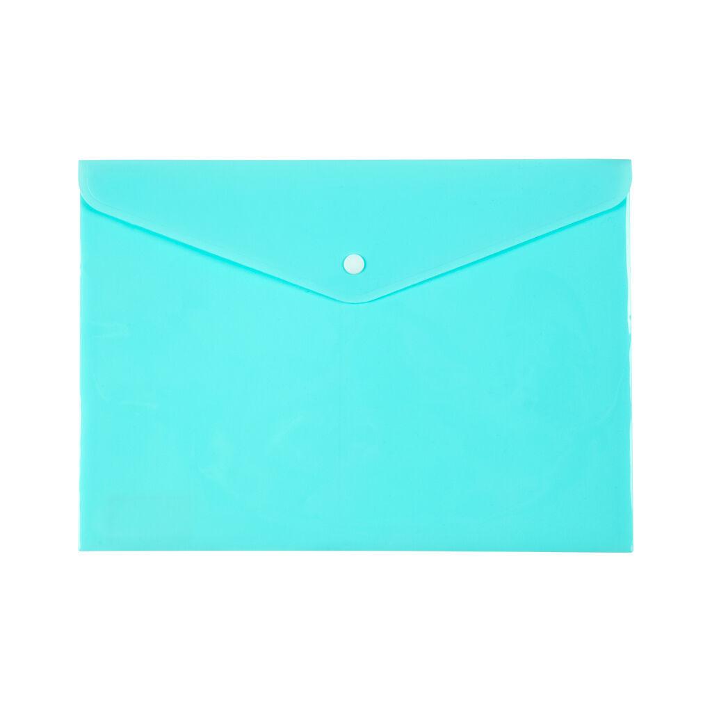 Папка - конверт Axent А4 180мкм Pastelini Мятная (1412-18-A)