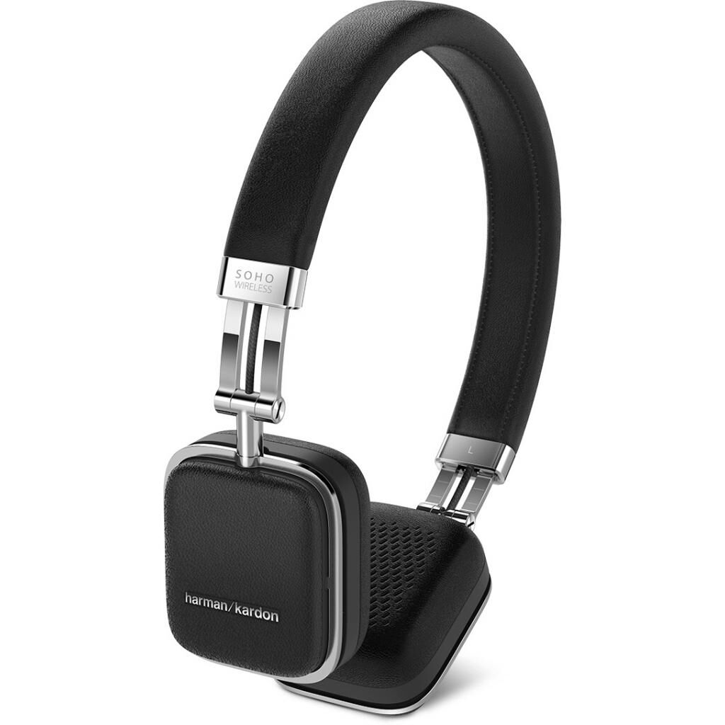 Наушники Harman Kardon Soho Wireless Black (HKSOHOBTBLK)