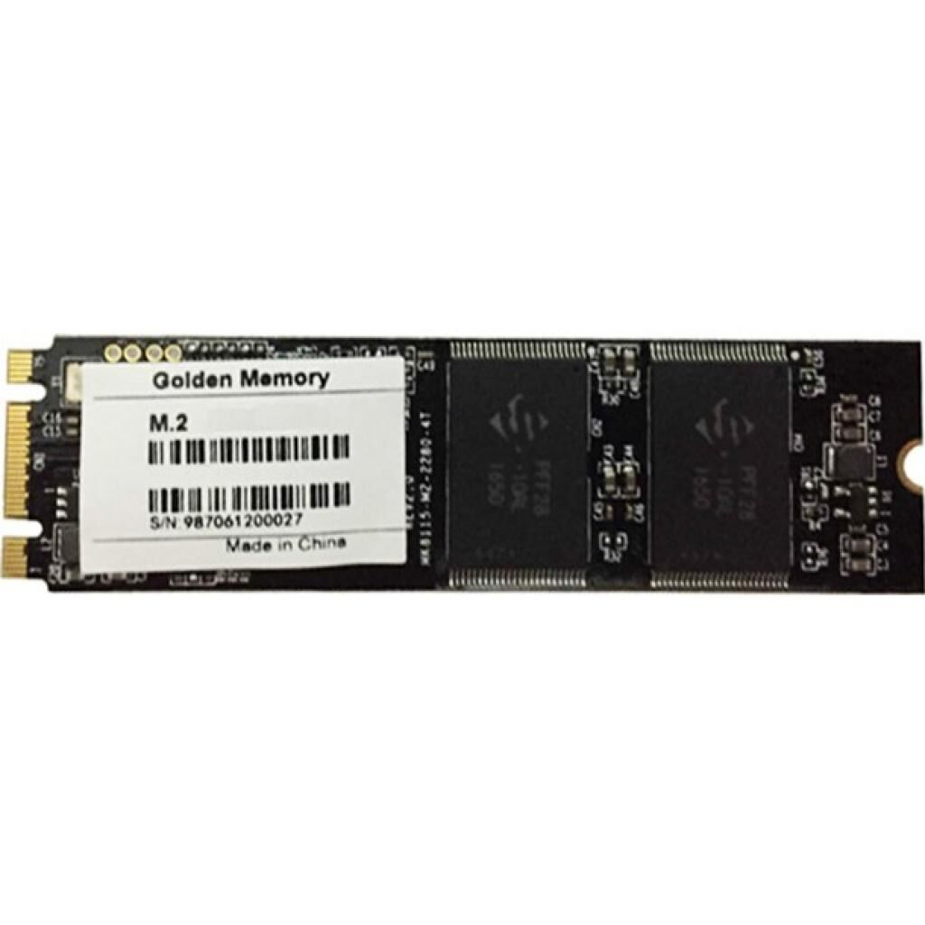 Накопитель SSD M.2 2280 128GB Golden Memory (AM128CGB)