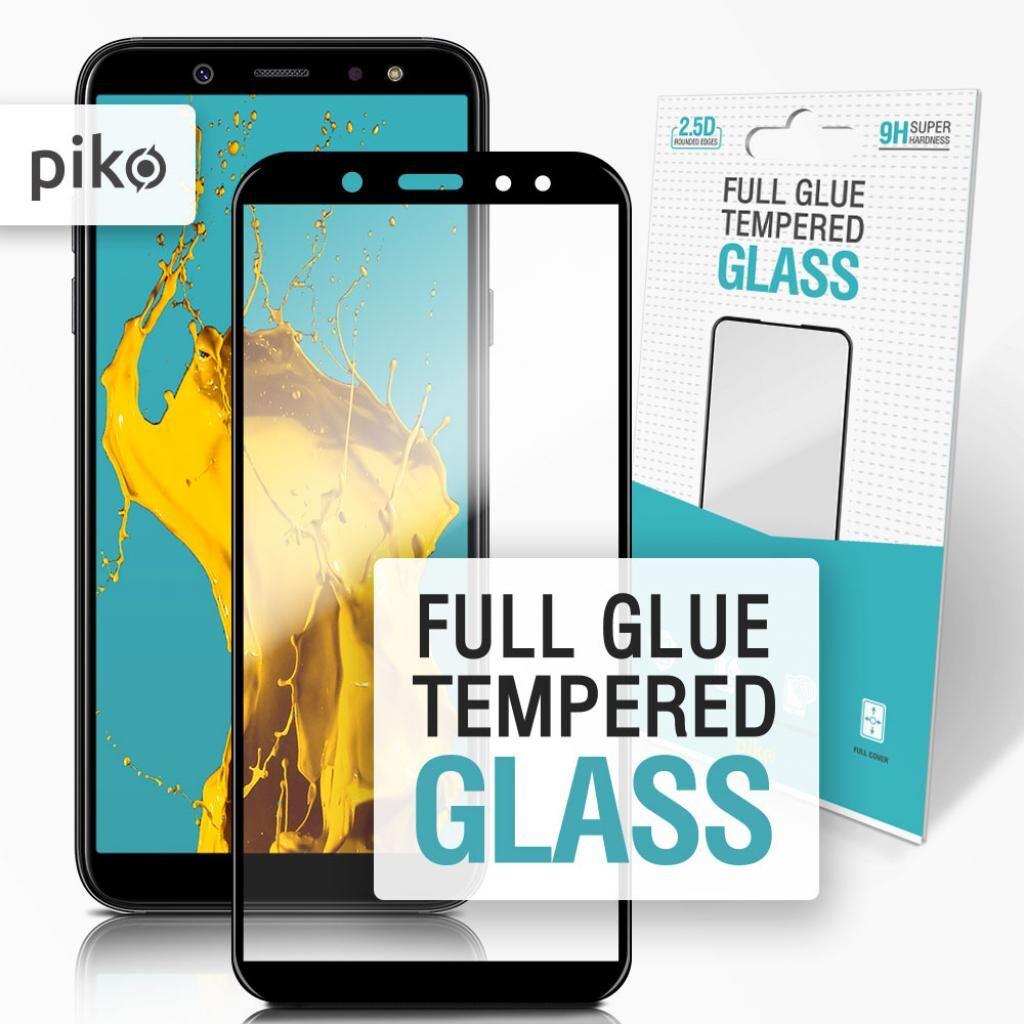 Стекло защитное Piko Full Glue Samsung A6 (1283126487262)