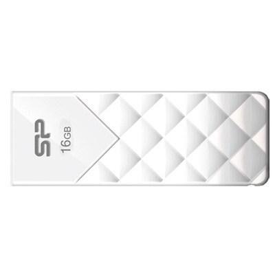 USB флеш накопитель Silicon Power 16Gb Ultima U03 White (SP016GBUF2U03V1W)