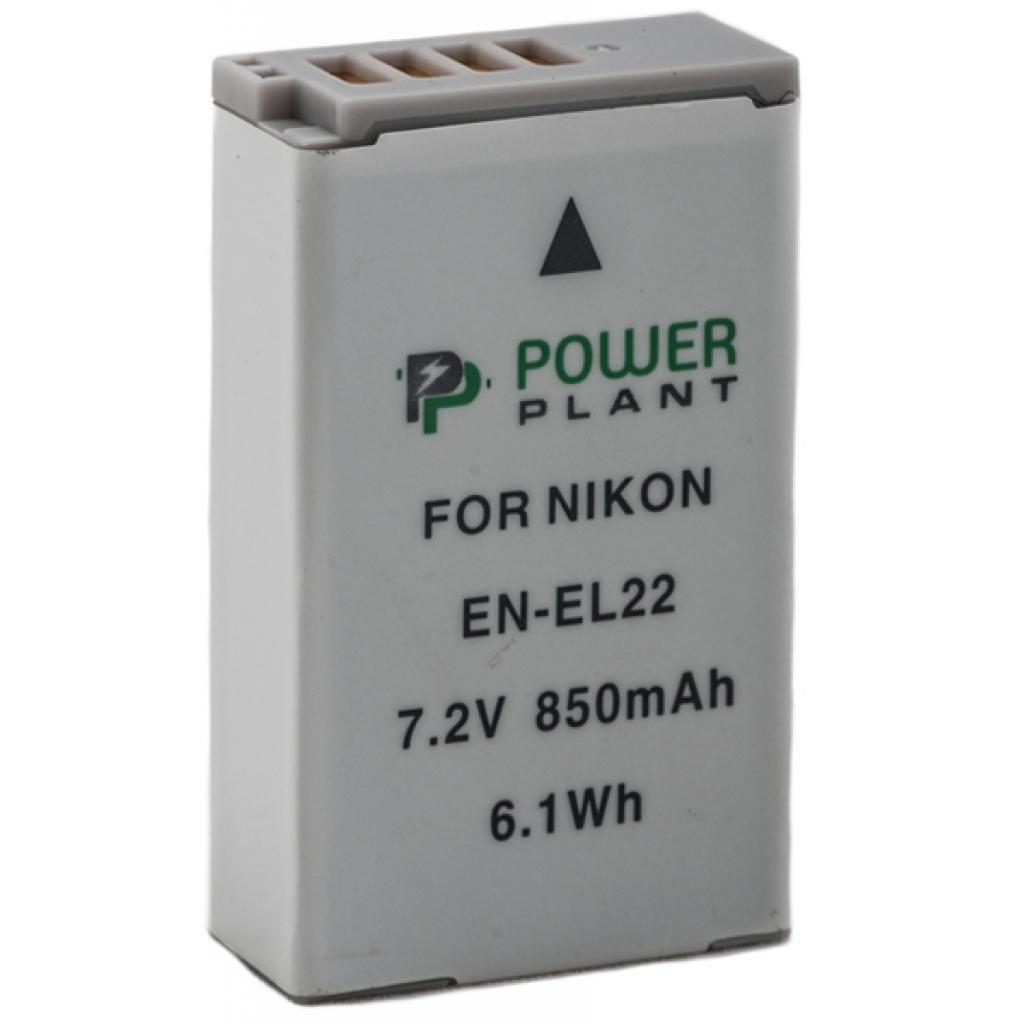 Аккумулятор к фото/видео PowerPlant Nikon EN-EL22 (DV00DV1399)