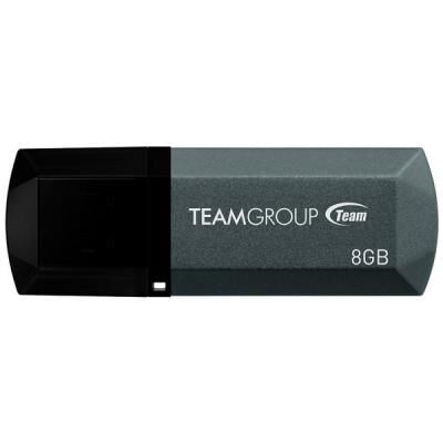 USB флеш накопитель Team 8GB C153 Black USB 2.0 (TC1538GB01)