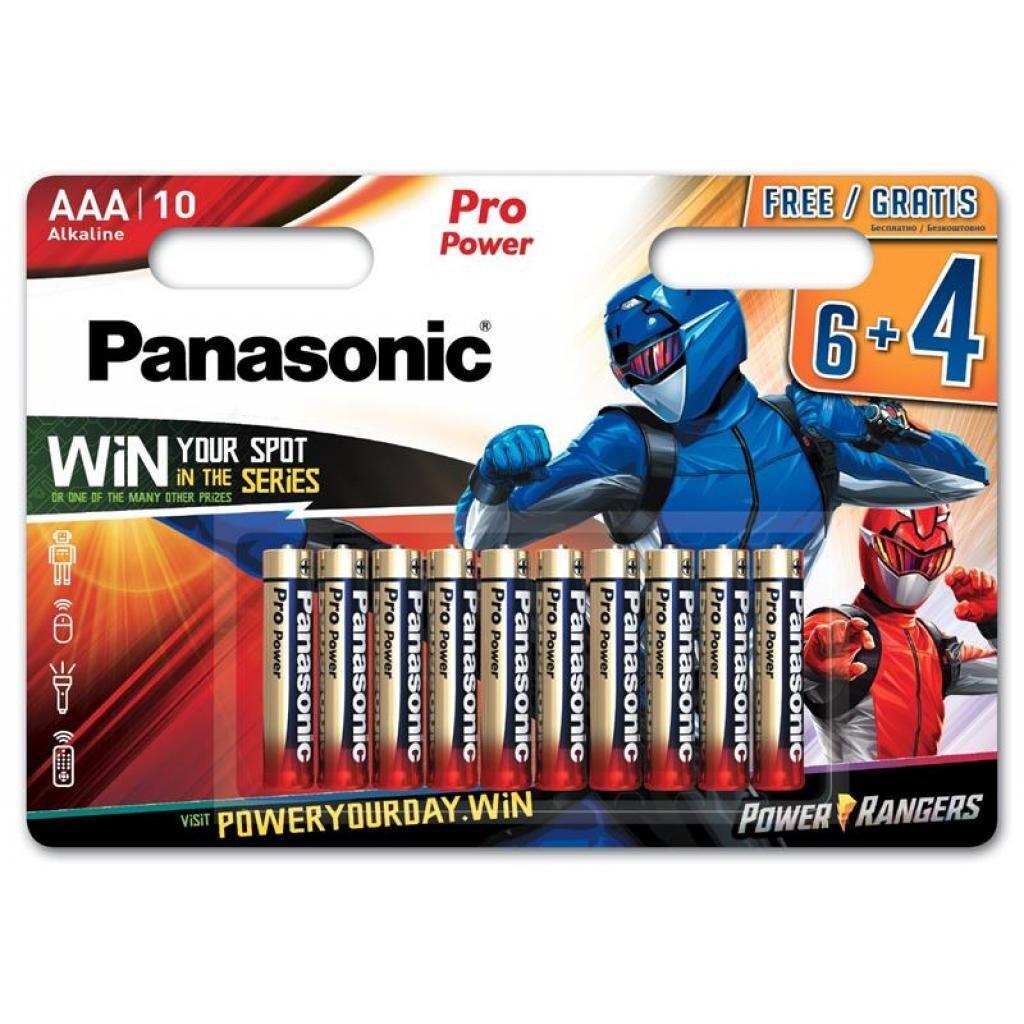 Батарейка Panasonic AAA LR03 Pro Power * 10 Power Rangers (LR03XEG/10B4FPR)