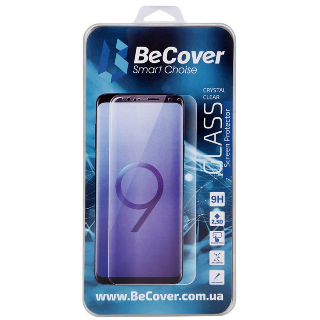 Стекло защитное BeCover Xiaomi Redmi 9 Crystal Clear Glass (705113)