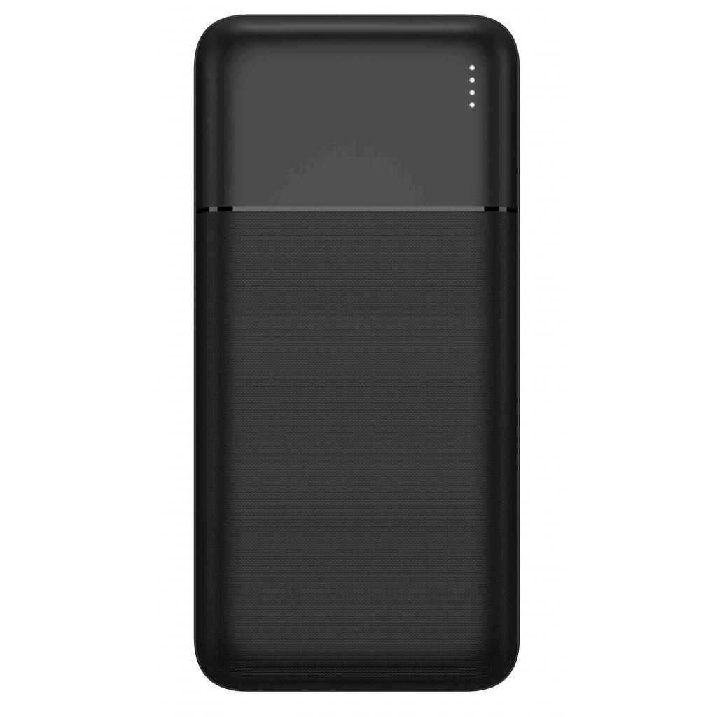 Батарея универсальная Florence TwinUp Li-Pol 20000mAh Black (FL-3061-K)