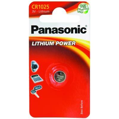 Аккумулятор CR 1025 PANASONIC (CR-1025EL/1B)