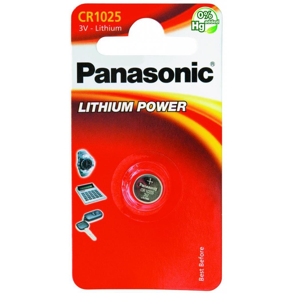Батарейка CR 1025 Panasonic (CR-1025EL/1B)